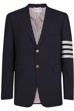 Thom Browne Men Blazers - 4-Bar woollen blazer