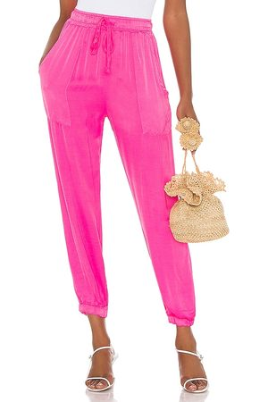 Cali Dreaming Track Pant in Pink.
