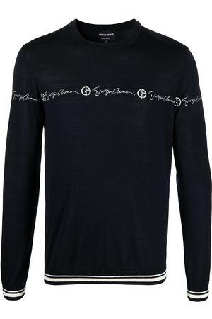 Armani Chest logo jumper