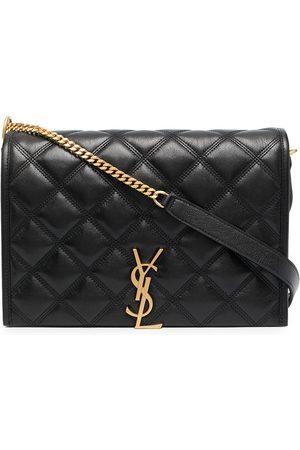 Saint Laurent Women Shoulder Bags - Becky diamond-quilt shoulder bag