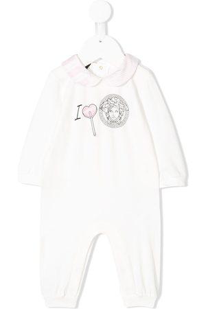 VERSACE Baby Rompers - Medusa print baby grow