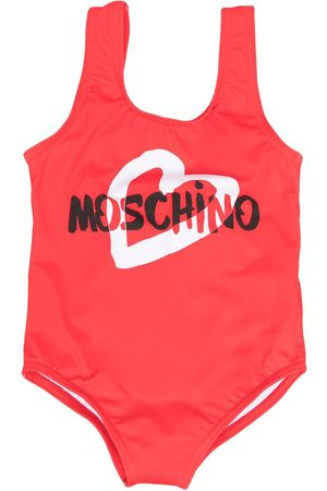 Moschino Baby Swimsuits - Logo print swimsuit