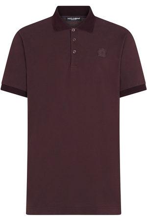 Dolce & Gabbana DG patch polo shirt