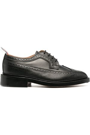 Thom Browne Women Formal Shoes - Longwing pebbled brogues