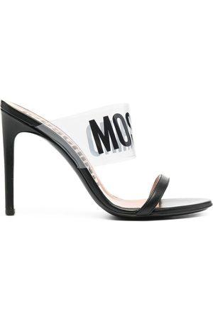 Moschino Women Sandals - 110mm logo sandals