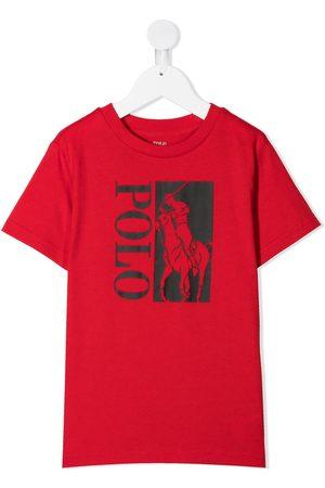 Ralph Lauren Boys T-shirts - Big Pony logo T-shirt