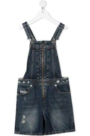 Diesel Girls Dungarees - Denim dungarees