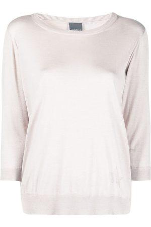 LORENA ANTONIAZZI Three-quarter sleeve jumper