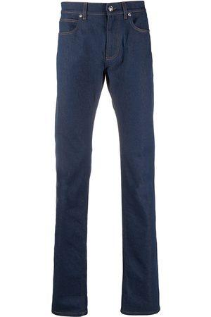 VERSACE Mid-wash straight-leg jeans