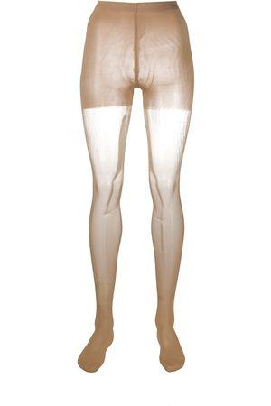 Wolford Individual 10 sheer tights - Neutrals