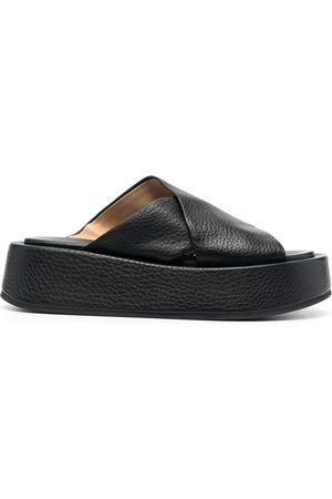 MARSÈLL Women Sandals - Cross strap platform sandals