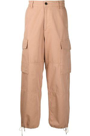Ami High waist cargo trousers - Neutrals