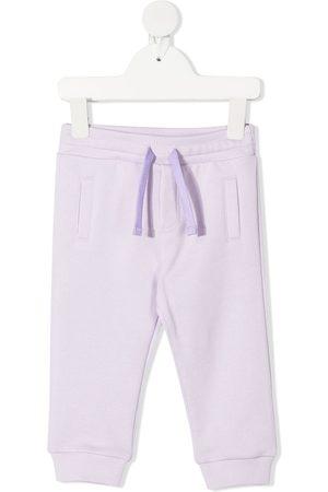 Dolce & Gabbana Kids Sweatpants - Two-tone track pants