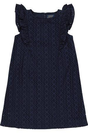 Ralph Lauren Girls Dresses - Cotton eyelet dress