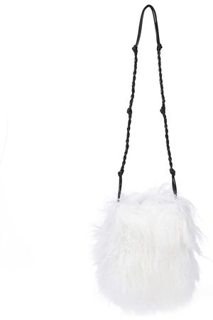 Jil Sander Women Shoulder Bags - Tangle Small shearling shoulder bag