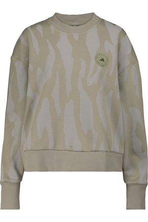 adidas Printed cotton-blend sweatshirt