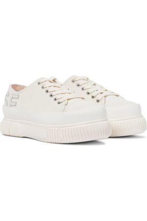 MONSE Women Sneakers - X Both corduroy platform sneakers