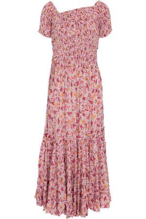 POUPETTE ST BARTH Soledad floral midi dress