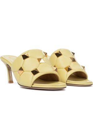 VALENTINO GARAVANI Roman Stud quilted leather sandals