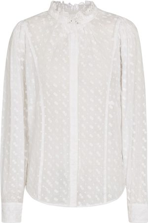 Isabel Marant Terzali cotton voile blouse