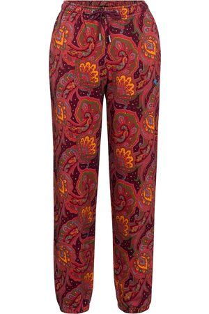 Etro Printed cotton trackpants