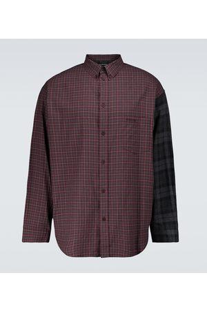 Balenciaga Checked flannel shirt