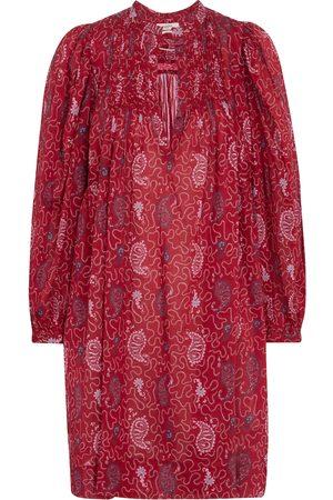 Isabel Marant Virginie printed cotton voile minidress