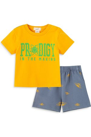Peek Kids Boys' Prodigy Shorts Set - Baby