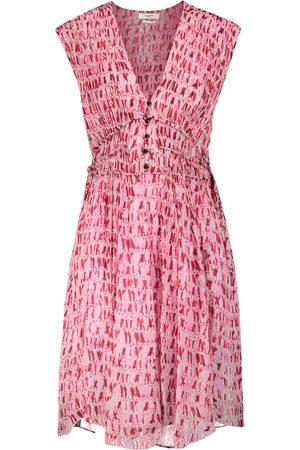 Isabel Marant Segun tie-dye georgette minidress