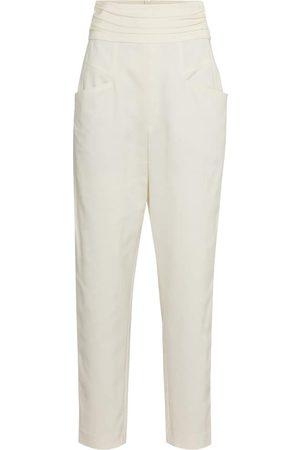 Isabel Marant Women Straight Leg Pants - Stoda high-rise tapered pants