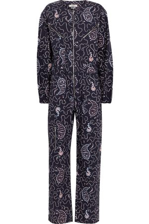 Isabel Marant Nilaney printed cotton canvas jumpsuit