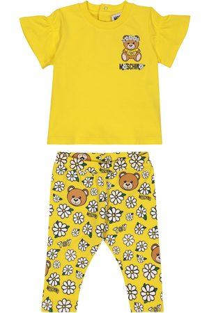 Moschino Sets - Baby stretch-cotton T-shirt and leggings set