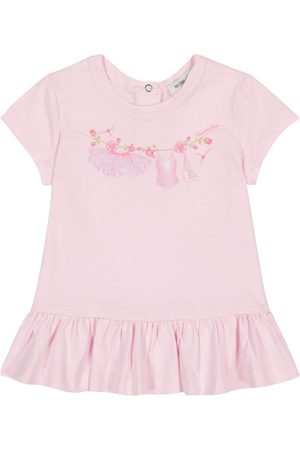 MONNALISA Baby printed cotton T-shirt