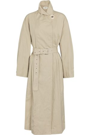 Isabel Marant Peter cotton and linen trench coat