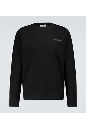 Givenchy Men Sweatshirts - Cotton sweatshirt with pocket