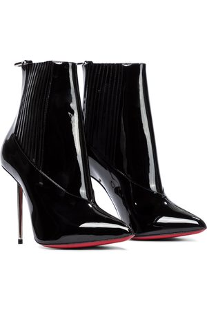 Christian Louboutin Epic 100 patent leather ankle boots