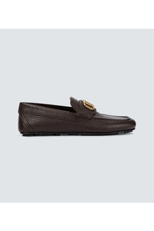 VALENTINO GARAVANI Leather loafers