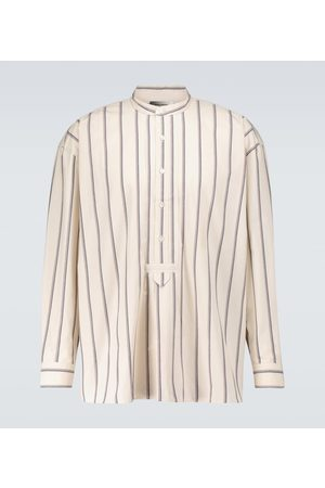 Isabel Marant Men Long sleeves - Riley striped shirt