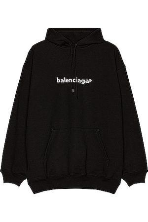 Balenciaga Medium Fit Hoodie in