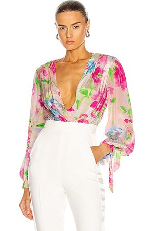 ROCOCO SAND Alora Top in Floral,Pink,White