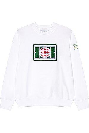 Casablanca Chenille Embroidered Sweatshirt in
