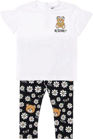 Moschino Girls Leggings - Cotton Jersey T-shirt & Leggings