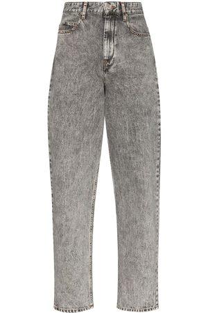 Isabel Marant Corsysr high-waist boyfriend jeans - Grey