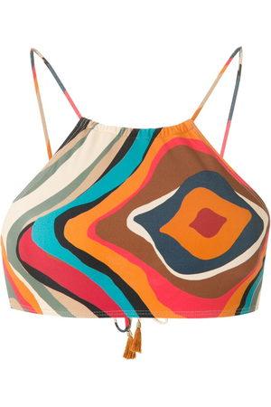 Lygia & Nanny Ilana printed bikini top - Multicolour