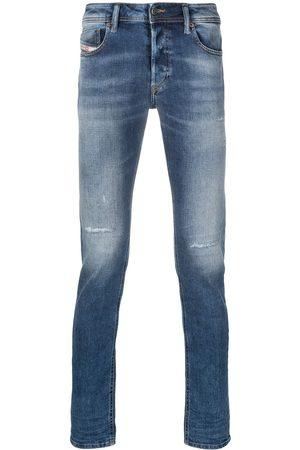 Diesel Sleeker mid-rise slim-cut jeans