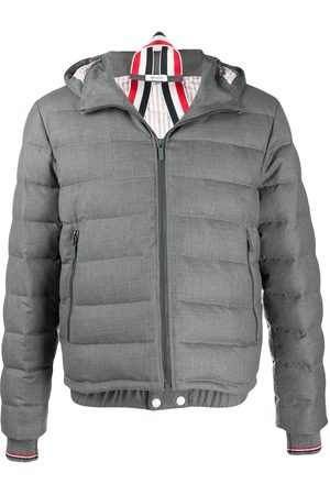 Thom Browne Down-filled twill ski jacket - Grey