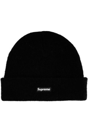 Supreme Beanies - Logo-patch knitted beanie