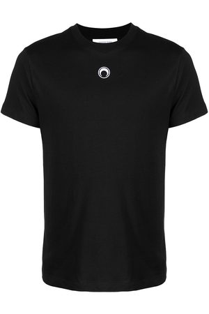 Marine Serre Moon logo-embroidered T-shirt