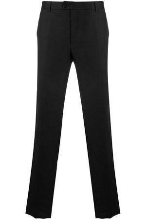 BILLIONAIRE Embroidered crest tailored trousers