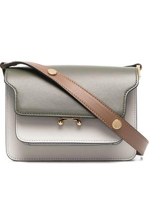 Marni Women Shoulder Bags - Mini Trunk crossbody bag - Grey